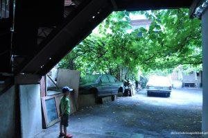 nasze podwórko w Tbilisi
