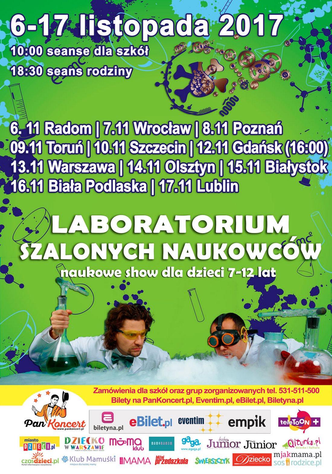 Laboratorium Szalonych Naukowców