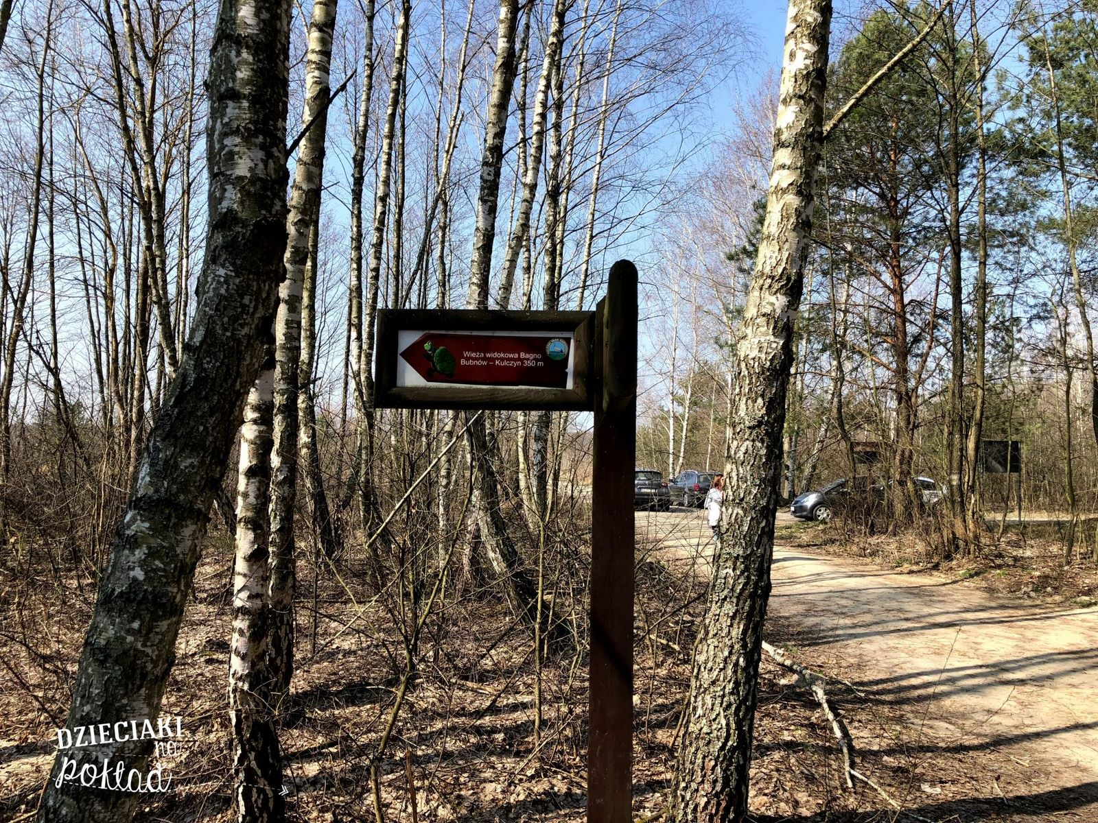 Czahary - ścieżka na Polesiu