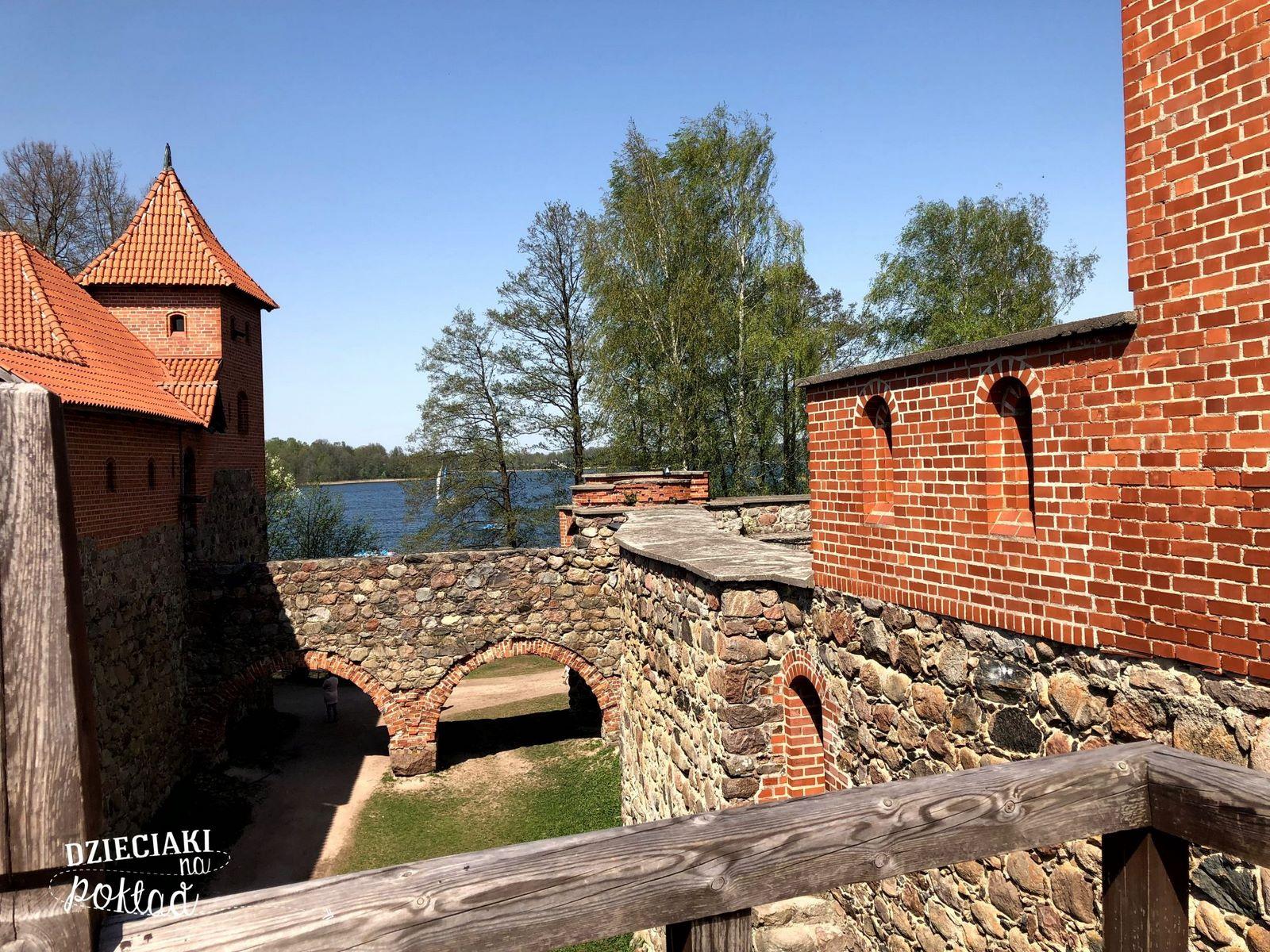 Litwa - zamek w Trokach