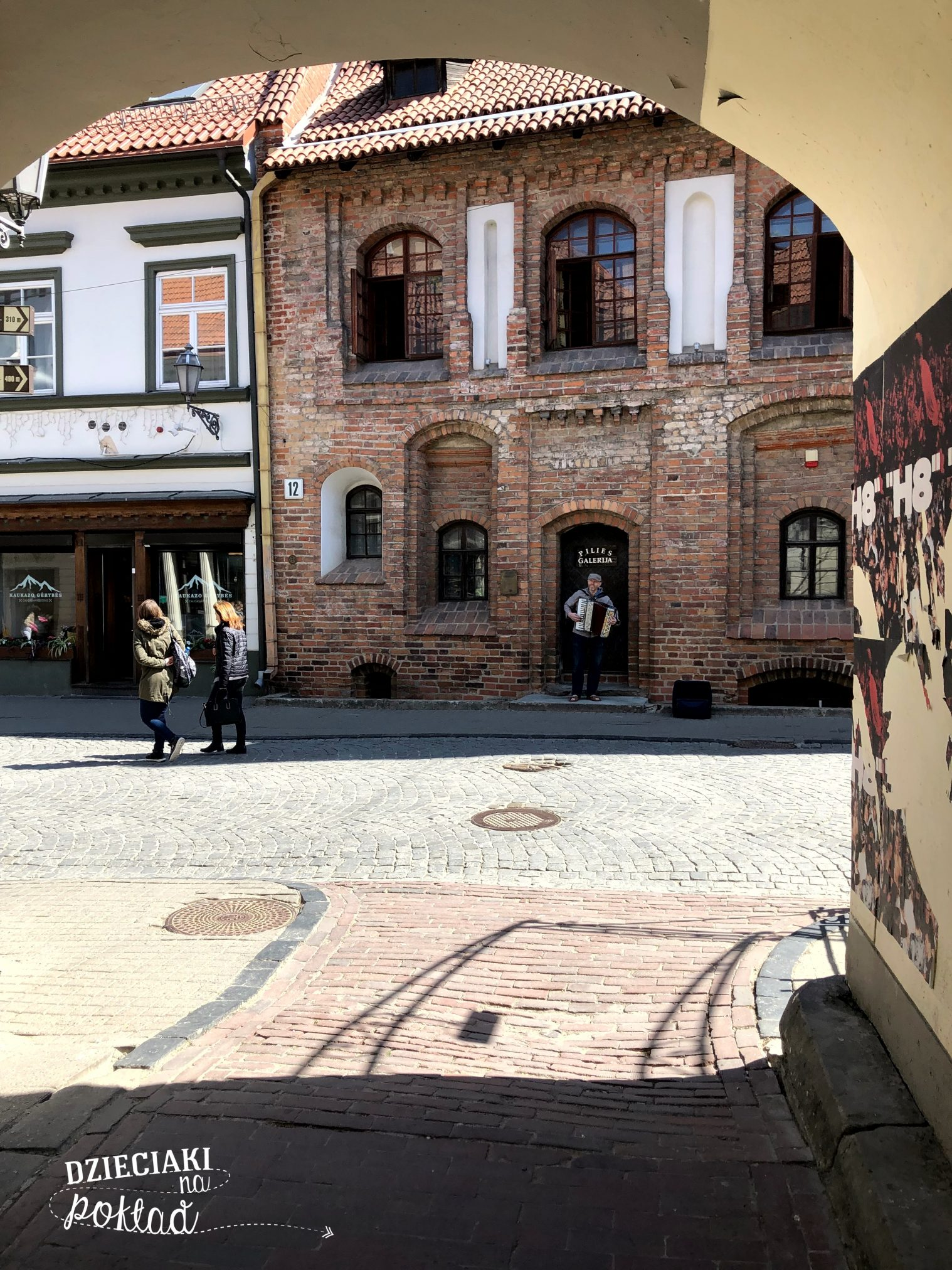 Litwa - ulice Wilna