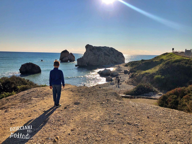 atrakcje Cypru - skała Afrodyty