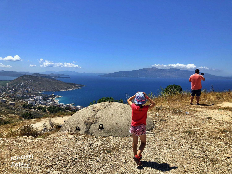 Albania - Saranda, widok na Korfu