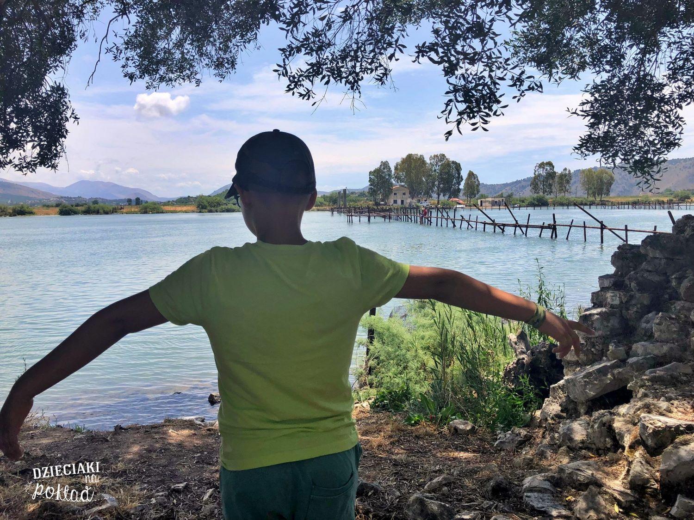 Albania - jezioro Butrint