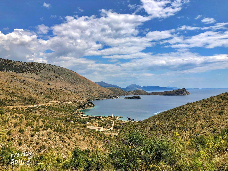 Albania - trasa z Sarandy do Himary