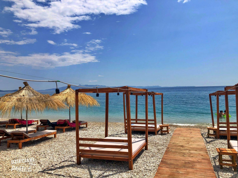 Albańska plaża