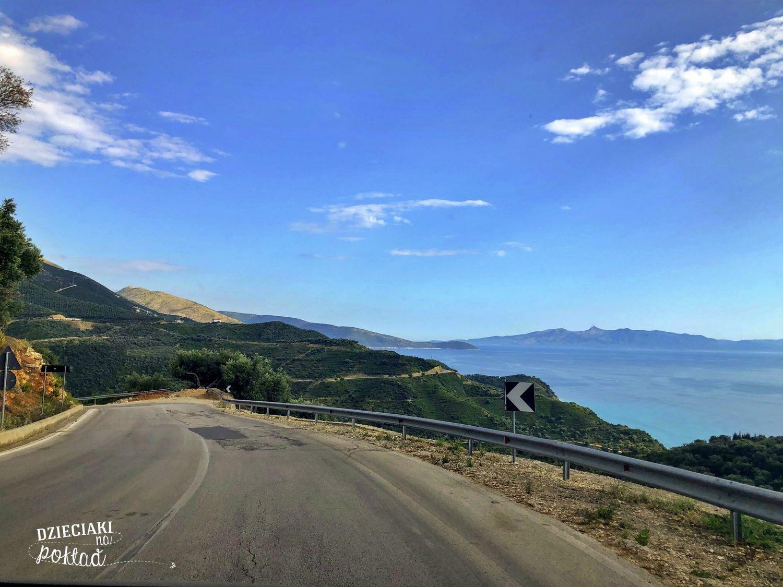Albania - trasa z Himary do Sarandy