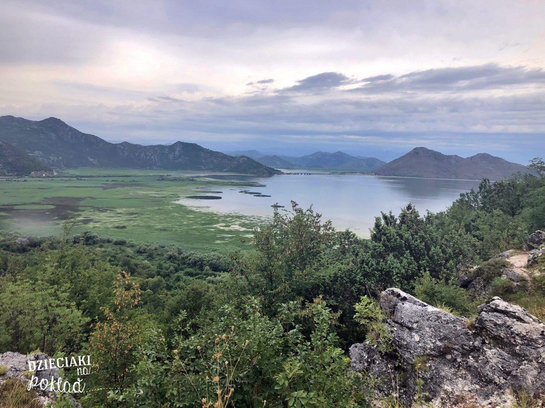 Jezioro Szkoderskie od strony Czarnogóry