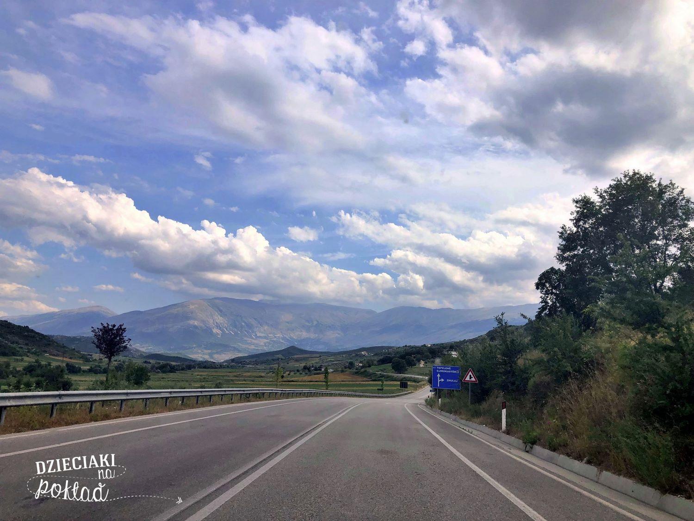 trasa - Albania