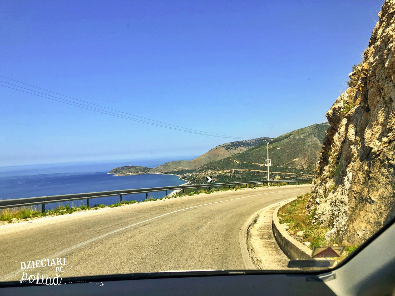 trasa - albańskie drogi