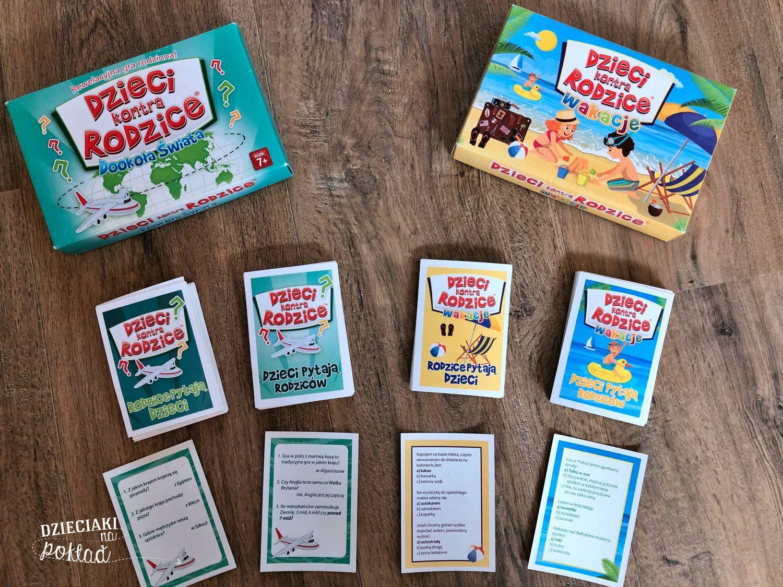 gry rodzinne - dzieciaki kontra rodzice