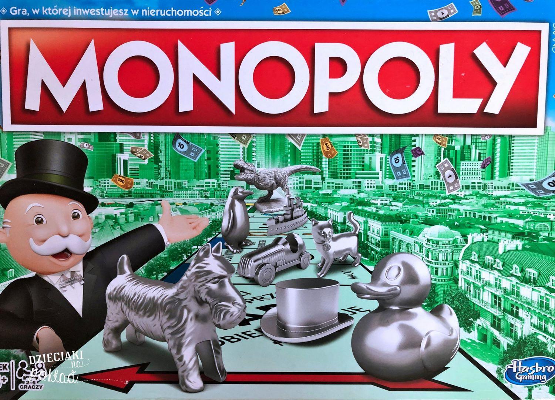 gry rodzinne -monopoly