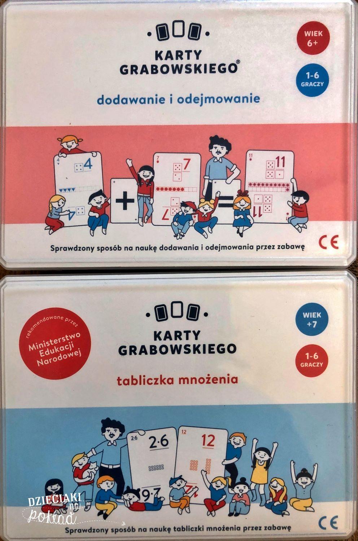 gry rodzinne - karty Grabowskiego