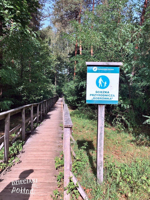 ścieżka przyrodnicza Bobrówka