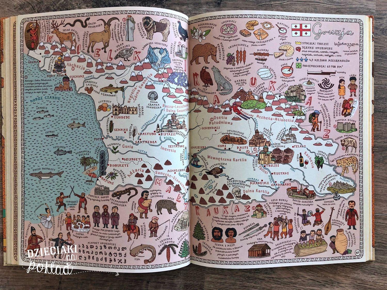 Książki podróżnicze - mapy