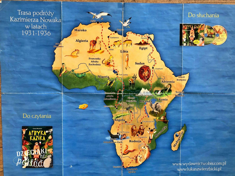Książki podróżnicze - Afryka Kazika