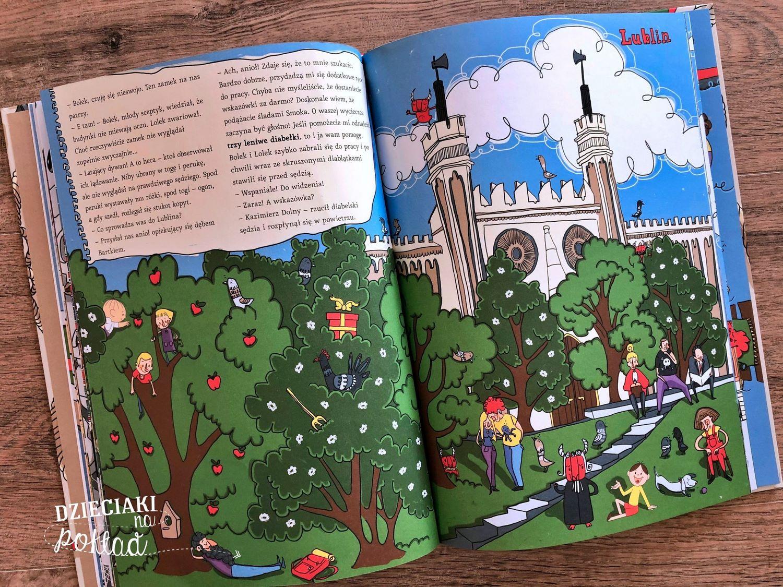 Książki podróżnicze - Bolek i Lolek zwiedzają Polskę
