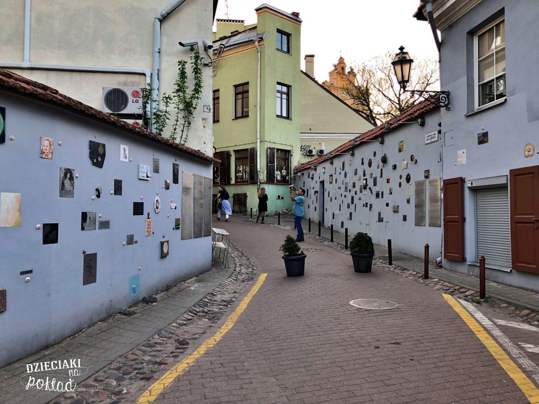 Wilno - ulica Literatów