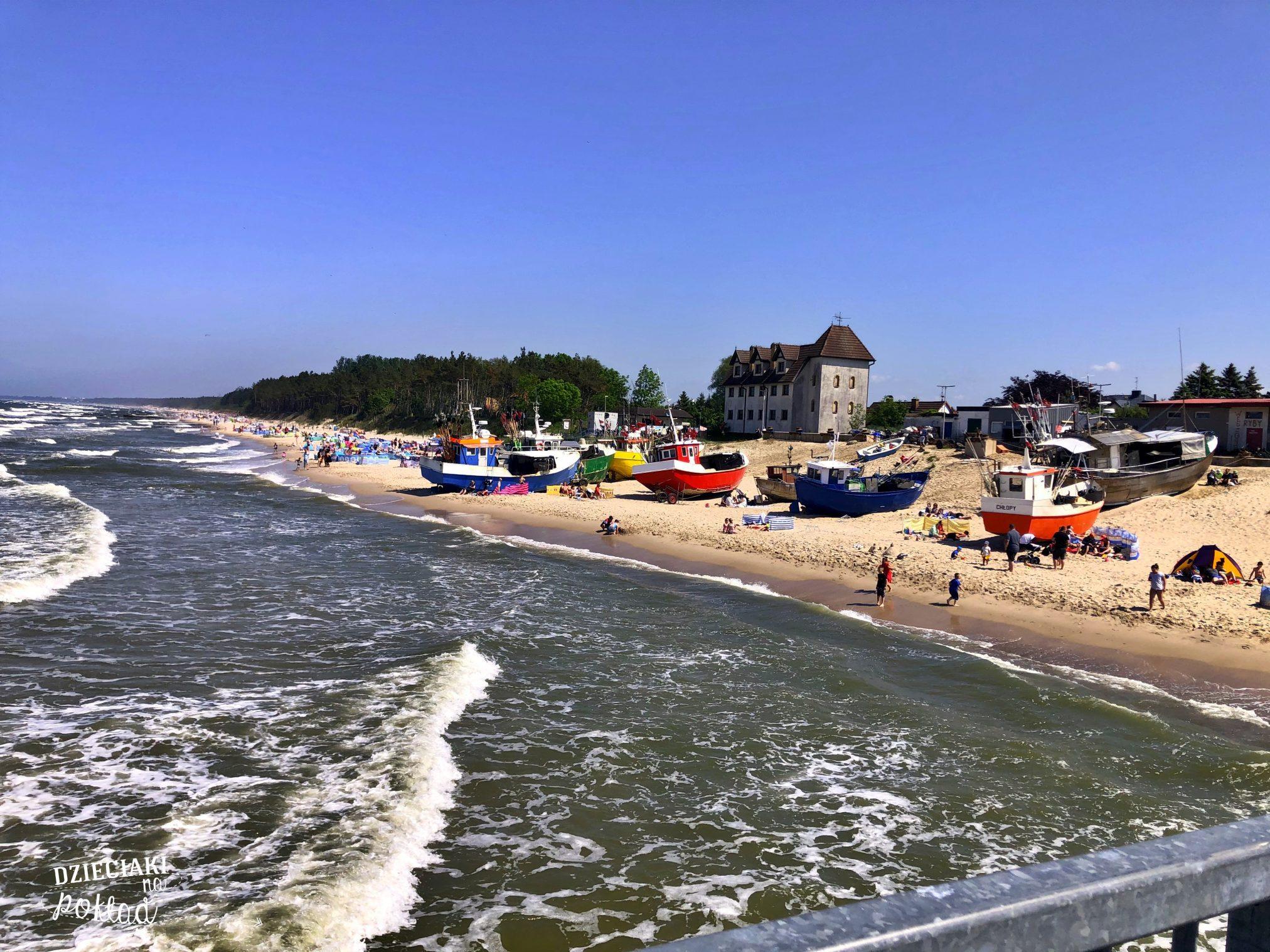 nad polskim morzem - Chłopy