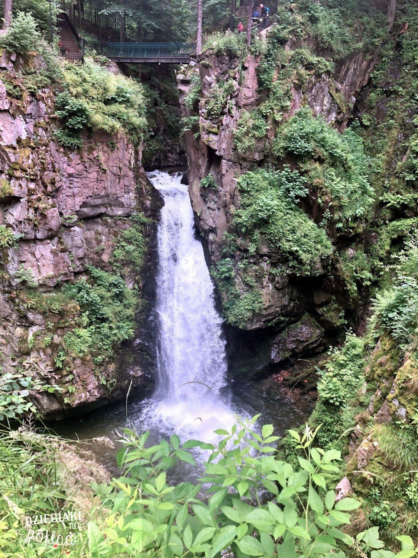 Międzygórze - wodospad Wilczki